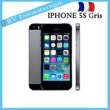 """APPLE Iphone 5S 16 Go GRIS SIDÉRAL - """"DÉBLOQUÉ TOUT OPÉRATEUR"""" BON ETAT"""