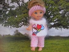 shelly kelly barbie tommy Puppenkleider Weihnachten hallo kitty Handarbeit