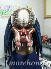 LIFE SIZE 1:1 ELDER PREDATOR HEAD MOVIE COSTUME MASK LATEX ALIEN COSPLAY REPLICA