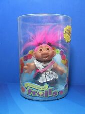"""2005 GOTH SCHOOL GIRL - 5"""" DAM Troll Doll - NEW IN CONTAINER"""