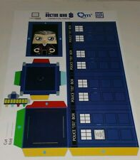 Paper Figs Doctor Who Make Your Own Model Tardis DIY Loot Crate