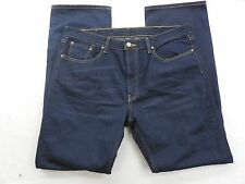 New Levi's Mens 559 0411 Dark Loose Straight Leg Relaxed Denim Jeans 36 X 32