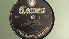 Little Club Dance Orchestra & The Caroliners  – 78rpm 10-inch Cameo #1258