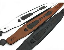 Super quality Thick brown genuine leather Guitar straps Bass straps Guitar belt
