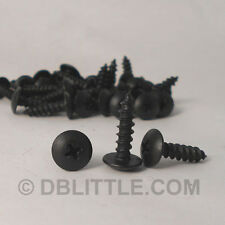 32) ST1034K Steel Black Oxide #10 Phillip Truss Head Self Tap Screw
