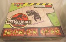 Jurassic Park Lost World Iron on Gear kit New MIB,misp