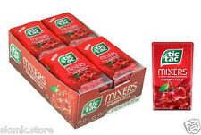 6 X Tic Tac Mixers Cherry Cola Flavour Changing Experience 16gm Pack Candy