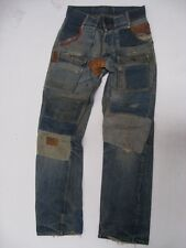 Vintage Levi's Crazy Patch Distressed 6 Pocket BUSH PANTS Jeans Size 32 X 32