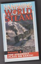 Vanishing World Of Steam Vol 4 - The Steamiest Place On Earth (VHS) Telerail