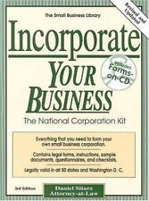 The Small Business Library: Incorporate Your Business : The National...