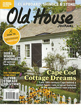 OLD HOUSE JOURNAL   SEPTEMBER, 2015 ( CAP COD COTTAGE DREAMS * CLEVER STORAGE