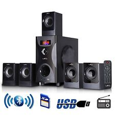 BeFree 5.1 CHANNEL BLUETOOTH SURROUND SOUND HOME THEATER SPEAKER SYSTEM BLACK
