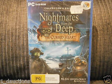 NEW SEALED PC CD-ROM GAME NIGHTMARES FROM THE DEEP CURSED HEART COLLECTORS ED