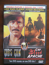 God's Gun & Cry Blood Apache - 2 Violent Westerns Movies on 1 DVD. Quality label