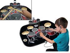 Childrens Kids Electronic Drum & Karaoke Kit Music Instrument Play Mat Toy 17974