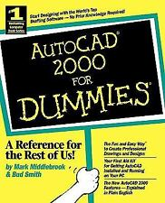 AutoCAD 2000 for Dummies NOT Ex Library Book