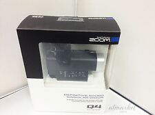 ZOOM Q4 Handheld HD Video Audio Recorder Built-In XY Microphone NEW