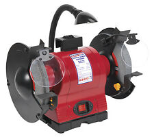 Sealey BG200WL Bench Grinder 200mm with Work Light 550W/230V