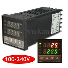100-240V Digital PID Temperature Controller + 40A SSR + K Thermocouple Probe
