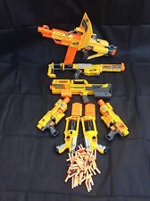 7 X NERF N-STRIKE GUNS Massive Bundle, Stampede, Deploy, Barricade, Recon, Party