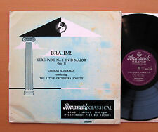 AXTL 1026 Brahms Serenade No. 1 Thomas Scherman Little Orchestra Brunswick NM/VG
