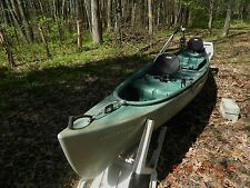 16 FOOT MAD RIVER CANOE, SEVELOR TROLLING MOTOR PADDLES