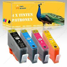 4x Nicht-OEM Tinte INK alternative für HP Photosmart e-All-in-One B110A mit Chip