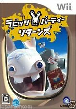 Used Wii Rabbids Party Returns Rayman Nintendo JAPAN JP JAPANESE JAPONAIS IMPORT