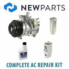 Toyota Sequioa 2001-2007 AC A/C Repair Kit With New Compressor & Clutch