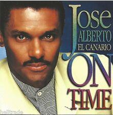 """JOSE ALBERTO """"EL CANARIO"""" / ON TIME - CD * NEW * NEU *"""