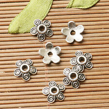 200pcs dark silver color flower design bead cap for jewerly making  EF2817