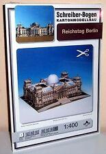 KARTONMODELLBAU Reichstag Berlin  SCHREIBER-BOGEN 642 Cardboard Modelling