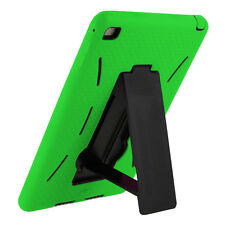 Mini 2 Case Green Hybrid Armor Cover Skin with Stand For Apple iPad Mini 1/2/3