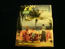 R2 1953 C&S Chicago & Southern Airline Travel Caribbean Haiti Cuba ++ Brochure