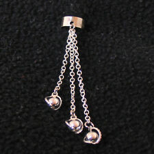 Ear Piercing and Cuff - High Elf Dangle Silver (single)