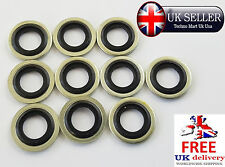 10 x M8 8mm METRIC Bonded Dowty Seal Self Centering Hydraulic Oil Seal Washer