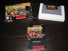 Donkey Kong Country 2 Diddy's Kong Quest SNES Complete in Box CIB