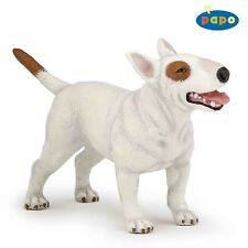 Papo Bull Terrier Figurine - 54027 Animal Toy Detailed Plastic Dog Animal Figure