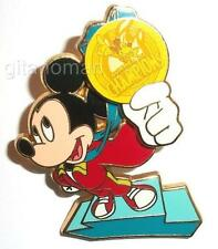 Disney Olympic Games 2008 Summer of Champions Gold Medalist Mickey Mouse LE Pin