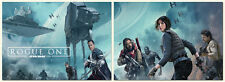 NEW - ROGUE ONE A STAR WARS STORY Cards - 2 Card Promo Set - Battle Scene