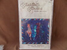 Wild and Free Wallhanging Quilt Pattern LuluBelle Designs NIP