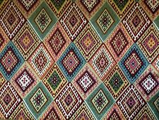 MARSON BOLIVIA BIANCO AZTEC TAPESTRY CURTAIN SOFT FURNISHING UPHOLSTERY FABRIC