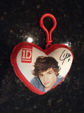 """1D One Direction """"Liam"""" Red Heart Plush Keychain"""