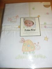 New Bubba Blue Spot The Bug Cradle Bassinet Sheet Set Bassinette Baby Boori