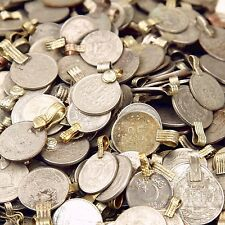 300 real COINS Tribal Belly Dance Kuchi Tribe SMALL ((standard unpolished))