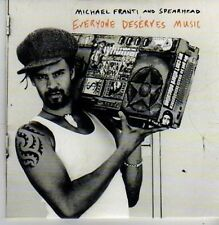 (BZ841) Michael Franti And Spearhead, Everyone Deserves Music - 2003 DJ CD