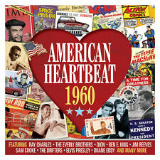 American Heartbeat 1960 VARIOUS ARTISTS Music BEST OF 50 SONGS New Sealed 2 CD
