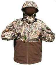 DRAKE WATERFOWL 209 XL MST DELUXE EQWADER FULL ZIP JACKET MAX4 CAMO 9577