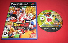 Playstation PS2 Dragon Ball Z Budokai Tenkaichi 3  [PAL Fr] Two Slim *JRF