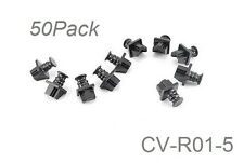 50-PACK RJ45 LAN Network Cat5e/Cat6 Ethernet Jack Snap-In Dust Cover, CV-R01-5